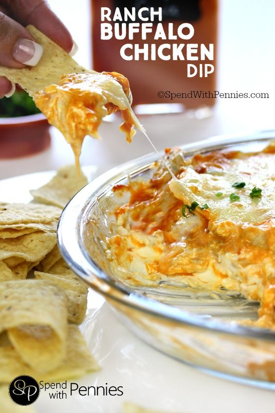 Buffalo Chicken Dip Rezept